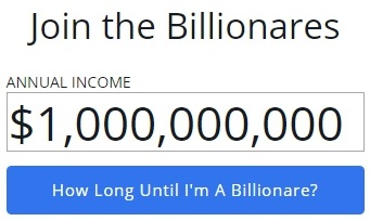 How Long Would It Take You To Earn $1,000,000,000?