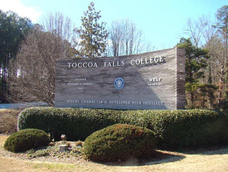 Toccoa Falls College, Georgia