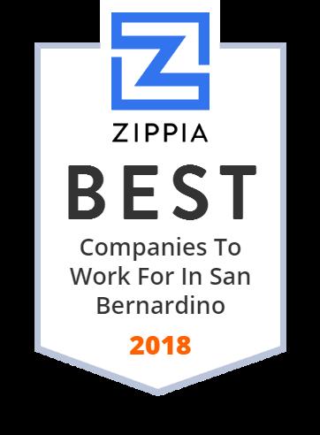 San Bernardino County Fire Department Zippia Award