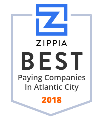 Tropicana Atlantic City Zippia Award