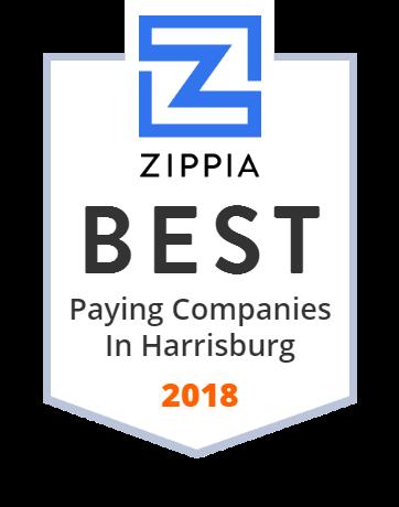 Capital BlueCross Zippia Award
