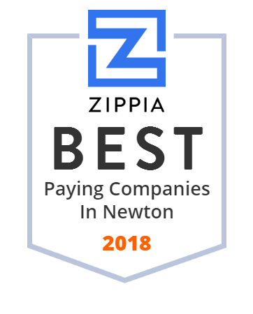 C&W Services Zippia Award