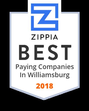 Second Street American Bistro Zippia Award