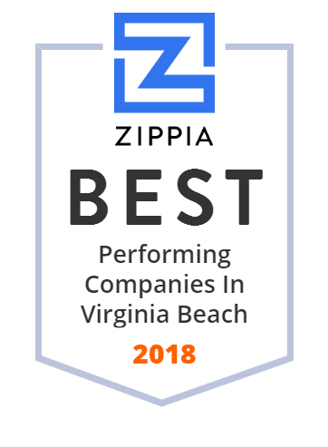 Virginia Beach Zippia Award