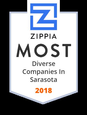 Sarasota County Zippia Award